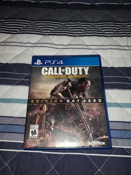 Jogo Ps4 Call Of Duty: Advanced Warfare - Edição Day Zero