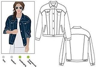 Style Arc Sewing Pattern - Stevie Jean Jacket (sizes 18-30)