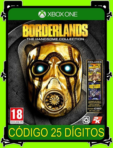 Borderlands The Handsome Xbox One - 100% Original (25 Díg.)