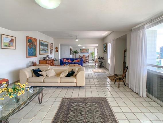 Apartamento Com 4 Quartos À Venda, 668 M² Por R$ 1.750.000 - Casa Forte - Recife/pe - Ap2101