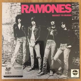 Ramones Box Lp + 3 Cd´s Rocket To Russia 40th Anniv. Lacrado
