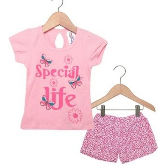 Conjunto Infantil Primavera Verão Polegar Kits