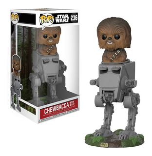 Funko Pop - Star Wars Chewbacca With At-st #236 - Nextgames