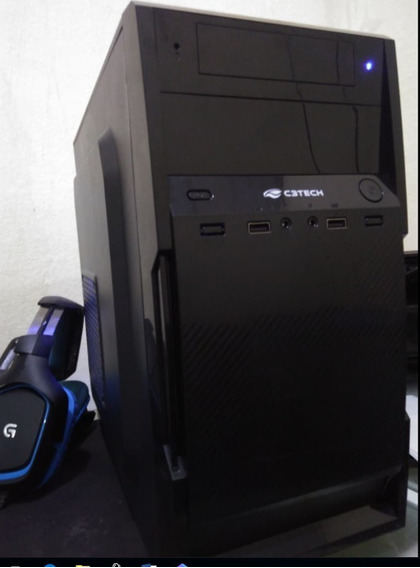 Pc Gamer I3 4gb Ssd 60gb+500gb F500 Real Placa Gtx 550ti 2gb