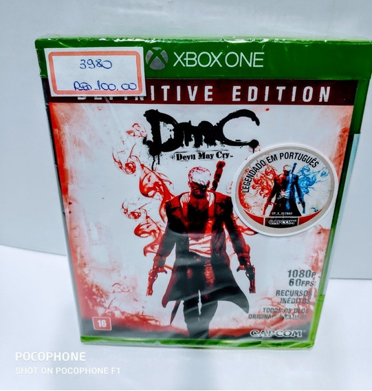 Jogos Xbox One Devil May Cry Definitive Edition