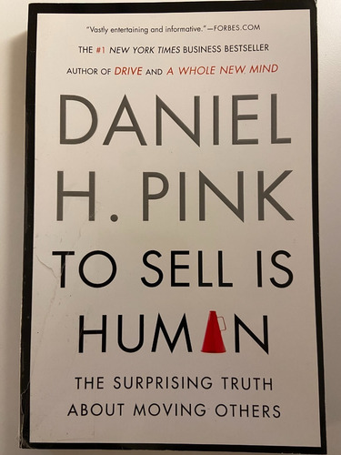 Libro To Sell Is Human / Daniel H. Pink