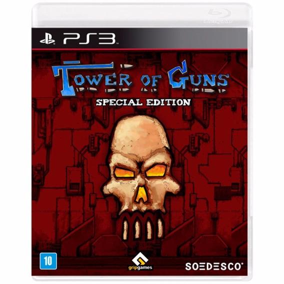 Tower Of Guns Ps3 Jogo Novo Original Lacrado Mídia Física