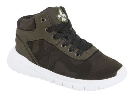 Tenis Casual Tipo Bota Urban Shoes Lack 820989 Urb