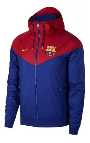 Jaqueta Nike Corta Vento Barcelona Promocao Pronta Entrega