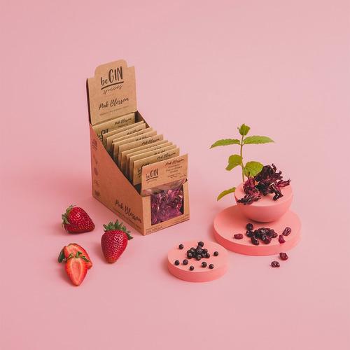 Box De Especiarias P/ Gin Tônica - Pink Blossom (12 Sachês)