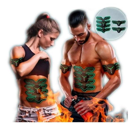 Electro Estimulador Muscular Vak Ems Pro Pad 8 Abdominales