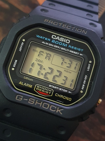 Relogio Casio G Shock Dw 5600 Fundo Rosca Lindo