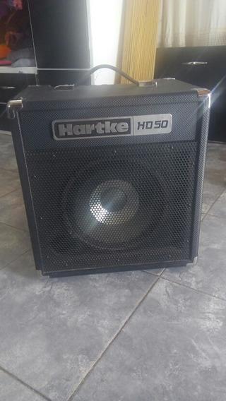 Amplificador Hartke Hd 50 Para Bajo