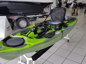 Caiaque Leader Com Motor A Pedal Para Pesca Esportiva