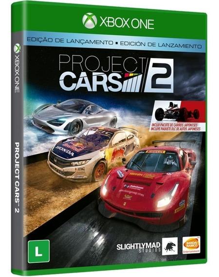 Jogo Project Cars 2 Xbox One Midia Fisica Original Novo Br