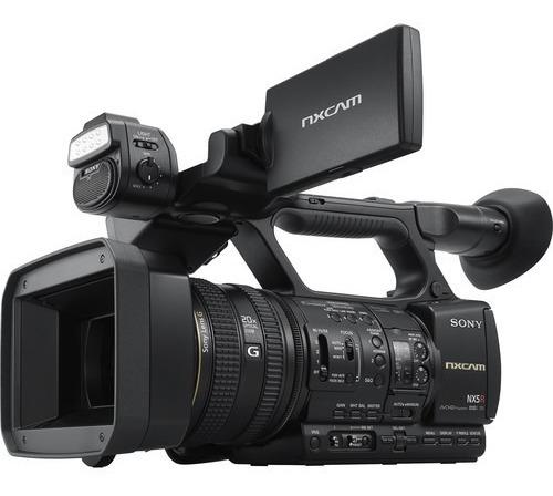 Filmadora Sony Hxr-nx5r Com Tripé De Brinde