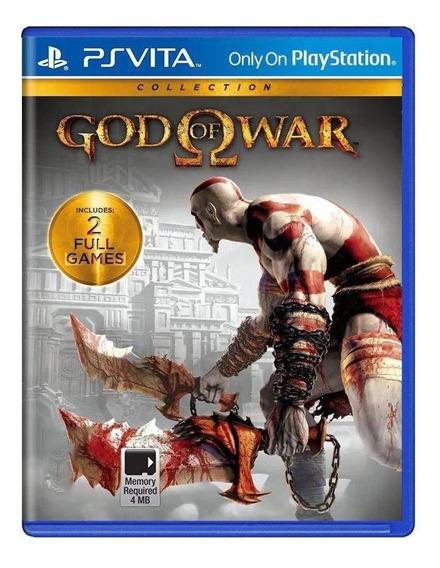 God Of War Collection Ps Vita Mídia Física Pronta Entrega