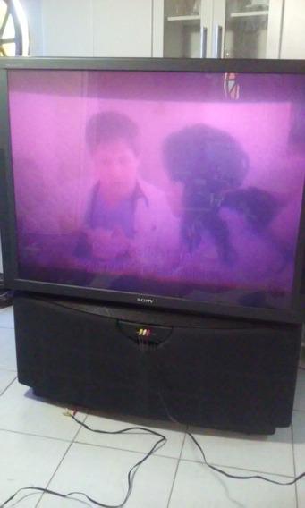 Tv Sony Projetor - Color Rear Video Projector / Kp-xbr45