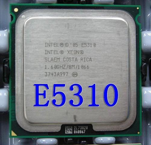 Processador Intel Xeon E5310 Slaem 8m Cache 1.6ghz Fsb 1066