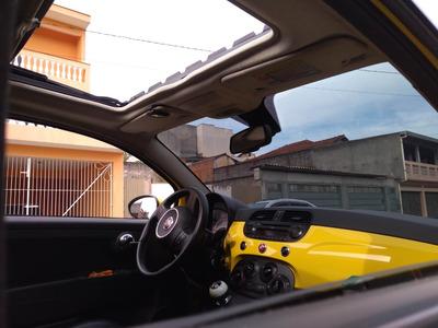 Fiat 500 Sport 1.4 Manual 16v 2010 - Teto Solar, Banco Couro
