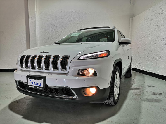 Jeep Cherokee Limited Plus 4x2 At 2017 Blanco