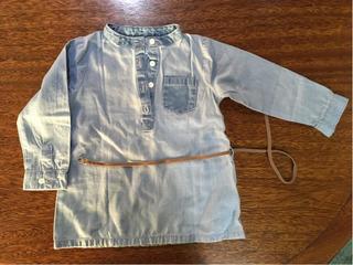 Camisa De Jean Tipo Vestido Carters
