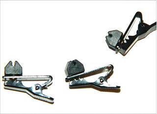 3 Paquete De Repuesto Windtech Mic Cable Clips .08mm-2mm