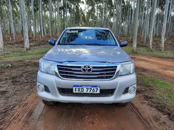 Toyota Hilux 2.5, Diesel, 4x2, 2012, Doble Cabina.