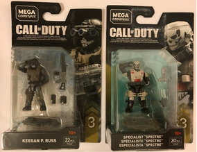 Mega Construx Call Of Duty Serie 3 Keegan Y Spectre