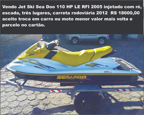 Sea Doo Gti 110 Hp