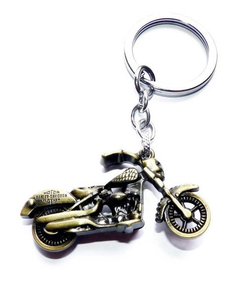 Chaveiro Harley Davidson De Metal