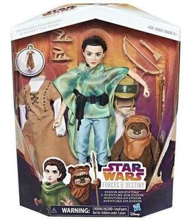 Star Wars Forces Of Destiny Endor Adventures Con Princess L