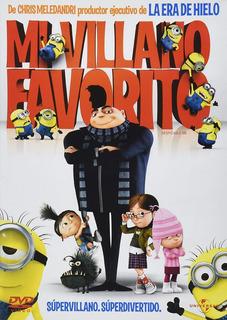 Mi Villano Favorito Despicable Me Aleks Syntek Pelicula Dvd