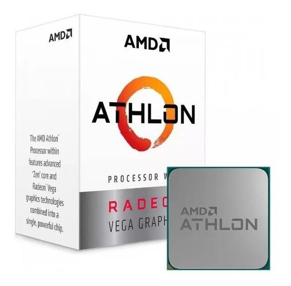 Kit Amd Athlon 200ge Vega 3 + A320m + 4gb Ddr4 2400mhz