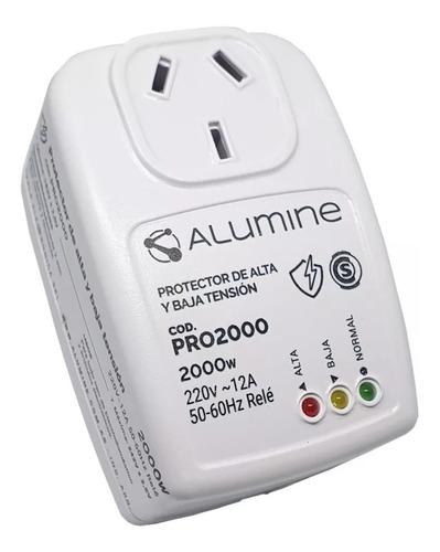 Protector De Tension Alumine Alta Y Baja Tensión 2000 W