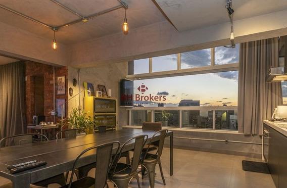 Apartamento De 1 Quarto, Mobiliado E Decorado, 112m² Para Alugar No Vila Da Serra Por R$ 8.50 - 18250