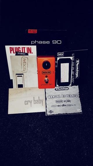 Pedal De Guitarra Mxr Phaser90 - Loja - Troco