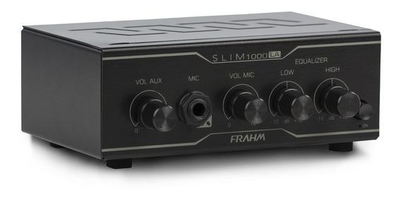 Amplificador Caixa De Som Ambiente Receiver Slim 1000 La 35w