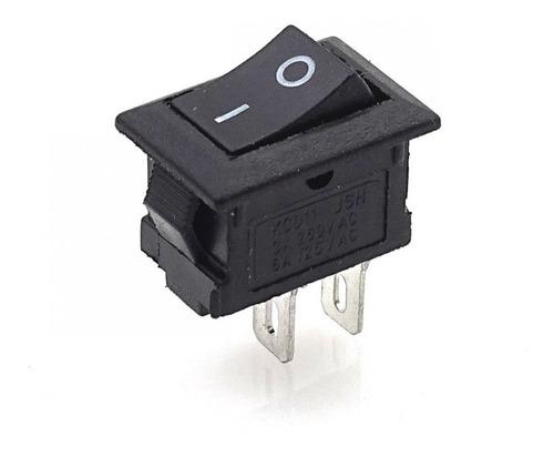 Interruptor Mini Suiche 117s 2 Pines 250v 3a 125v 6a