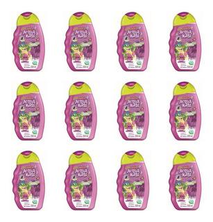 Acqua Kids 2em1 Uva E Aloe Vera Shampoo 250ml (kit C/12)