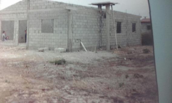 Vendo Terreno Con Casa Semi Construida