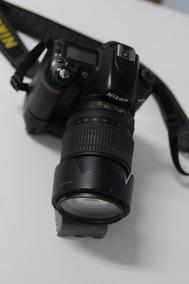 Camera Nikon D80 Com Lente Nikon 18-105mm