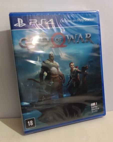 God Of War Ps4 Mídia Física Lacrado Pronta Entrega