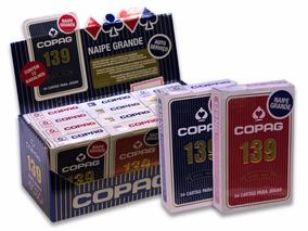 Caixa 12 Jogos De Cartas Copag 139 -naipe Grande