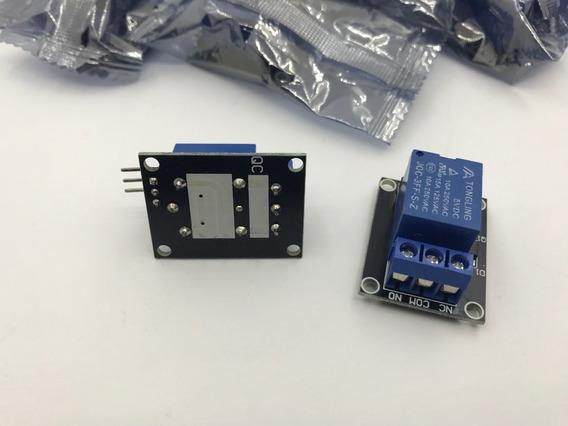 Kit 10 Módulo Relé 1 Canal 5v Arduino, Pic, Raspberry Pi