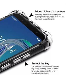 Capa Case Anti Impacto Zenfone Max M2 Zb555kl + 1 P/vidro