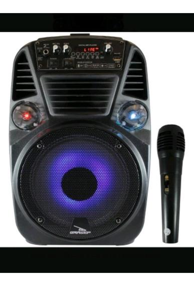 Caixa De Som Bluetooth C/ Rodinhas 30w Potencia