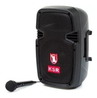 Bocina Bafle 8 Bluetooth Kaiser 6500 Bt20w Mod. Msa-7908bte