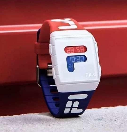 Kit 3 Relógio Fila Unissex Digital