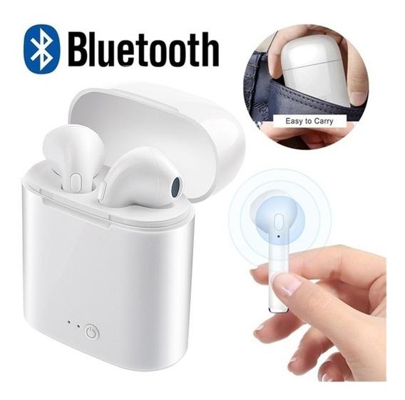 Audifonos AirPods Manoslibres Inalambricos Bluetooth Ios I7s